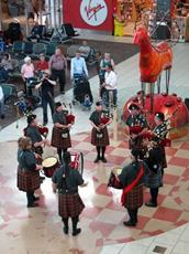 Click to view album: Calgary International Airport Pipe Band