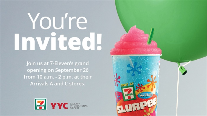 Sept. 23 update: Winner Announced! 7-Eleven's grand opening and a giveaway!