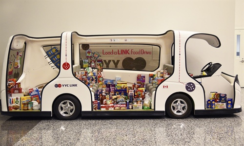 Load-a-LINK Food Drive: How did we do?