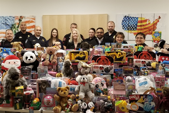 Unwrapping the success of the 2019 Christmas Toy Drive