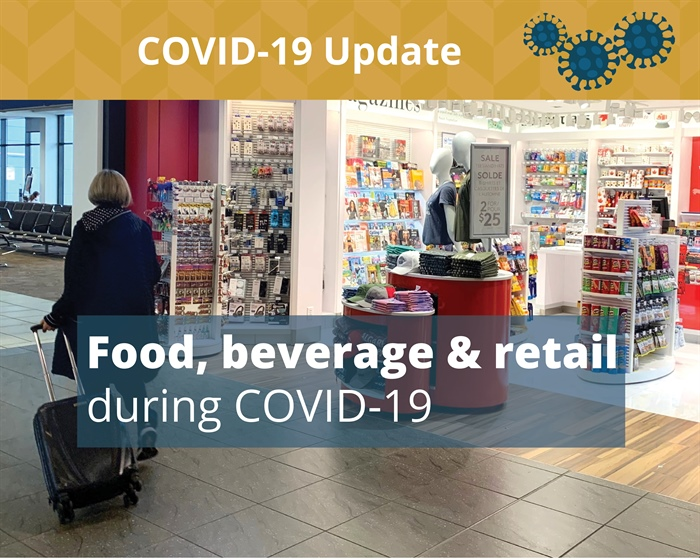 Food, Beverage and Retail hours during COVID-19