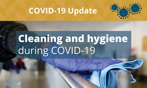 Cleaning and hygiene at YYC during COVID-19