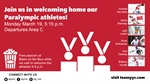 TODAY: Paralympic Arrivals