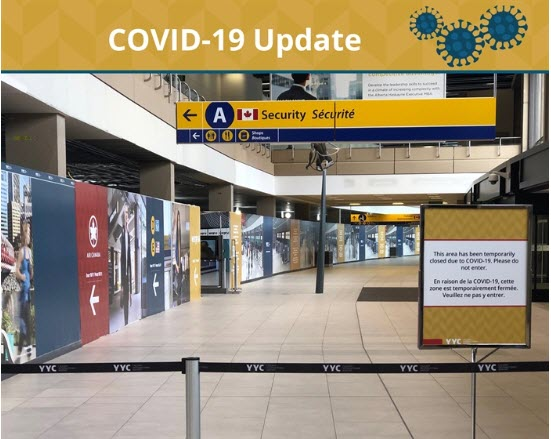 Updated federal quarantine measures for people arriving at airports