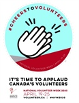 National Volunteer Week in Canada is from April 19-25