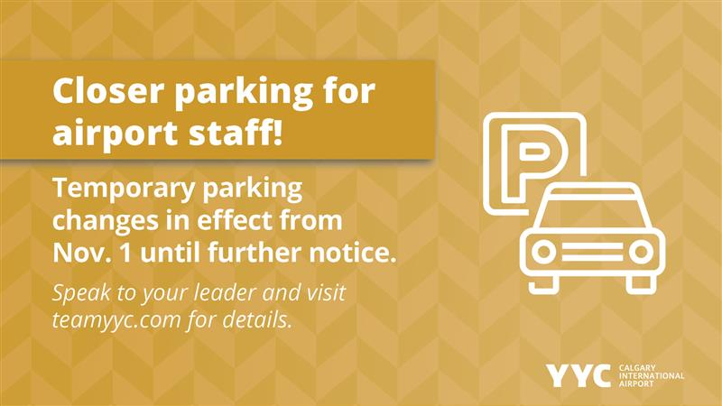Closer parking coming soon!
