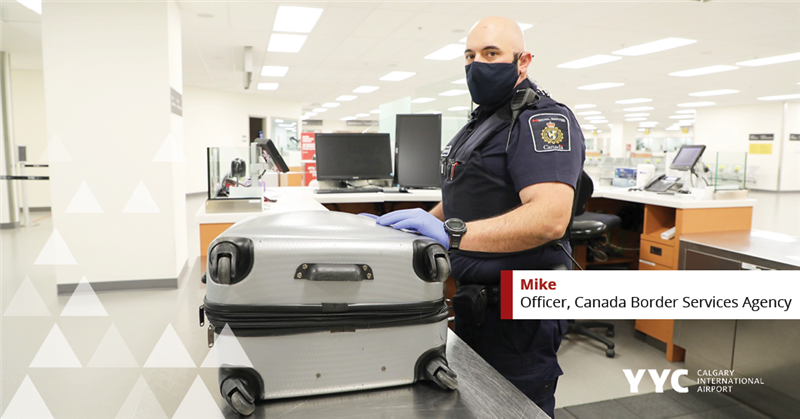 Mike from CBSA keeping Canadians safe